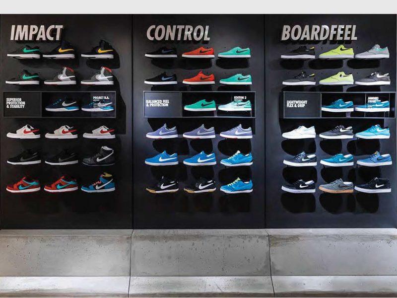 c2f2ae0c13763 Shoes Center ayakkabı mağazası dekorasyonu ve raf sistemleri