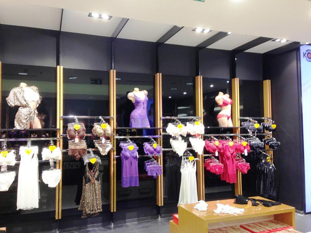 iç giyim mağaza raf sistemleri