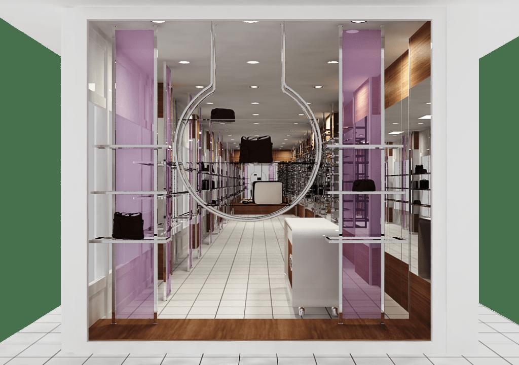 Çanta mağazası tasarımı
