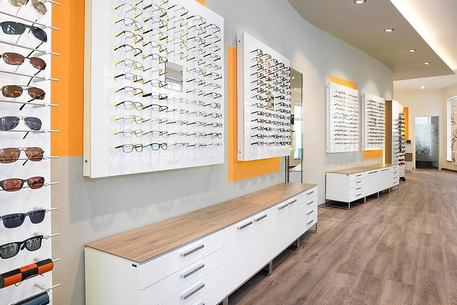 optik mağaza dekorasyonu