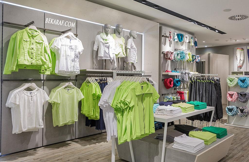 Tekstil Mağazası raf sistemleri
