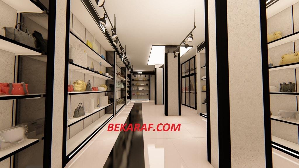 9c170df5a90e4 çanta mağazası raf sistemleri; çanta mağazaları dekorları; çavuşoğlu çanta  mağazası dekorasyonu ...